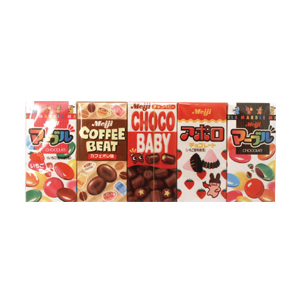 Meiji Chocolate sampler